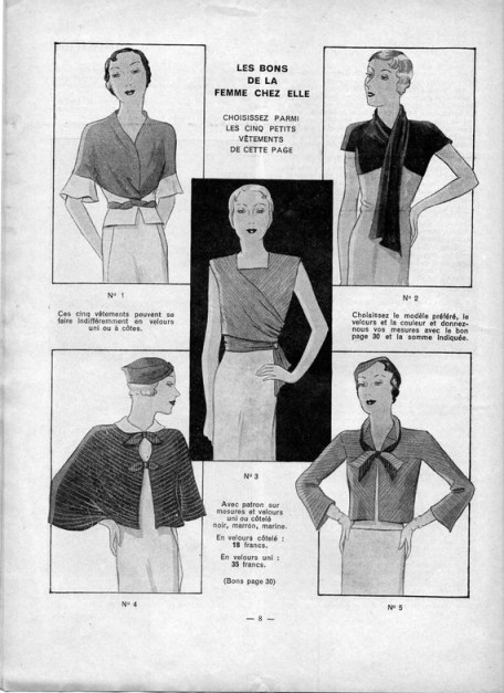 1930s Women's Magazine La Femme Chez Elle 15 December 1932
