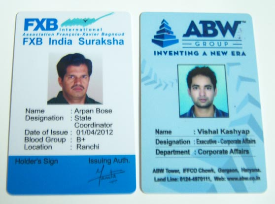 Office ID Card Manufacturer in Delhi Delhi India by VIGG India