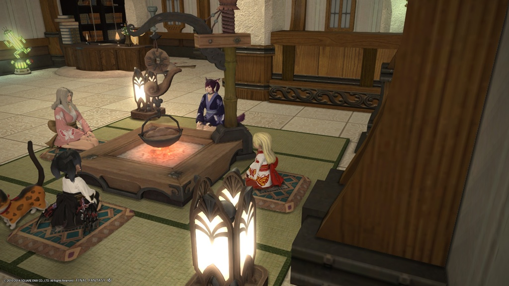 Dining Table Rug Suirenji Shizu Blog Entry `yukata!` | Final Fantasy Xiv