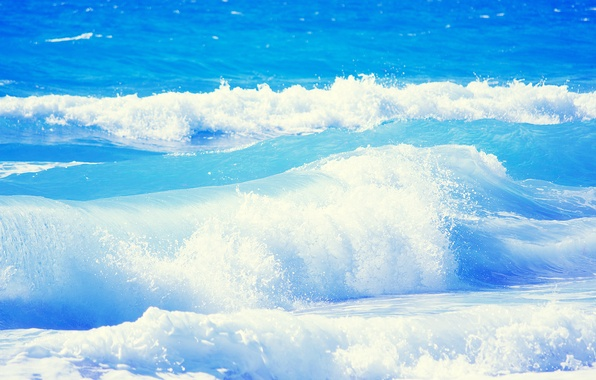 Wallpaper sea, wave, water, freshness, nature, the ocean, waves