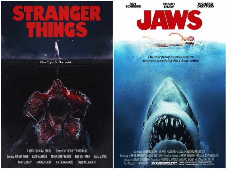 3d Shark Wallpaper Stranger Things Posters Channel Classic Films