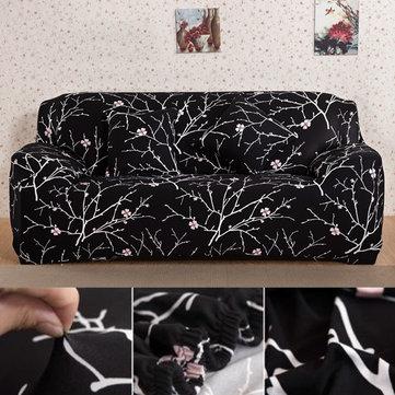 4 Größe gedruckte Polyester Sofa Abdeckung Elastische Spandex - esszimmer 2 wahl