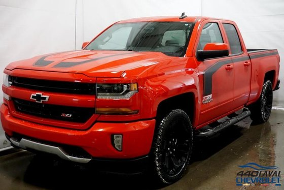 Centre Commercial Laval New 2018 Chevrolet Silverado 1500 Lt, Rally-2, Double Cab
