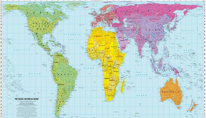 Sicuro di conoscere la geografia? Questa mappa ti farà cambiare idea
