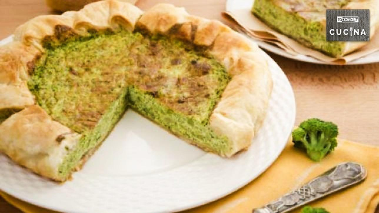 Cucina Italiana Torte Salate Quiche Ai Broccoli Tgcom24