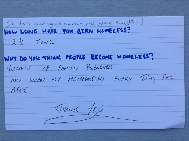 Homeless People Answer The Questions They39re Asked The