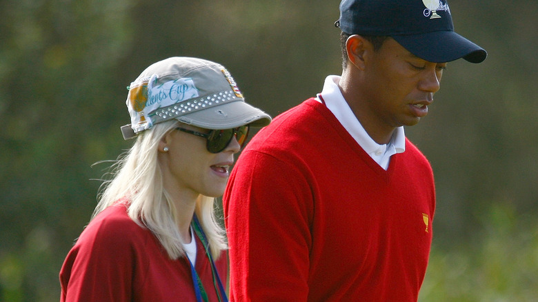 tiger woods ex wife picture today