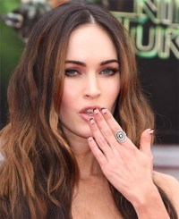 How To Get Megan Fox's Edgy Half Moon and French Tip ...