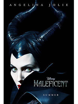 Angelina Jolie Embodies Evil in Maleficent Poster