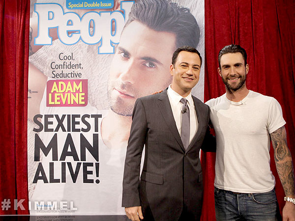 Adam Levine Calls Sexiest Man Honors 'A Great Choice'