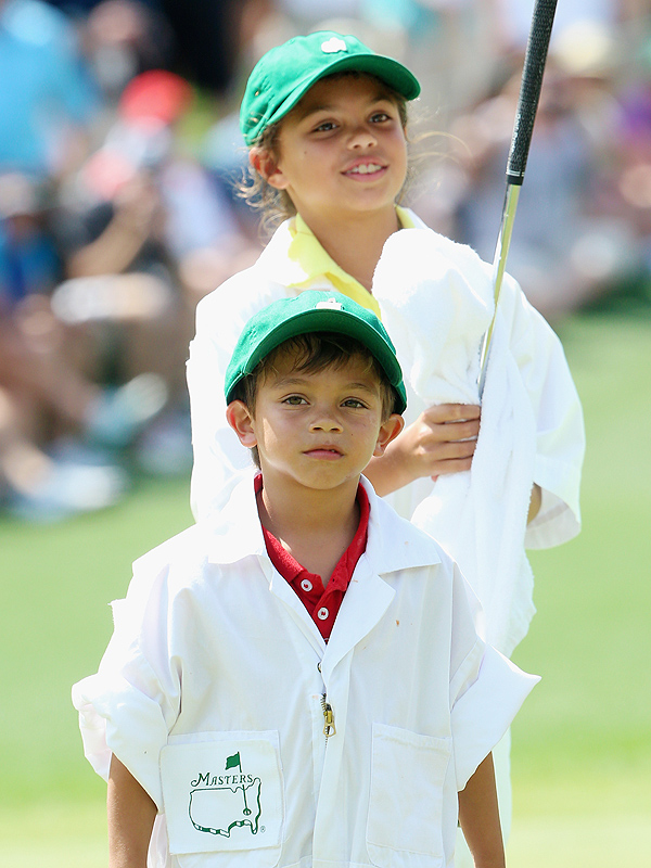 2015 photos of tiger woods children today