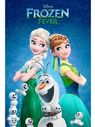 Aw, Snowbabies! Check Out the Poster for the New Frozen Fever Short