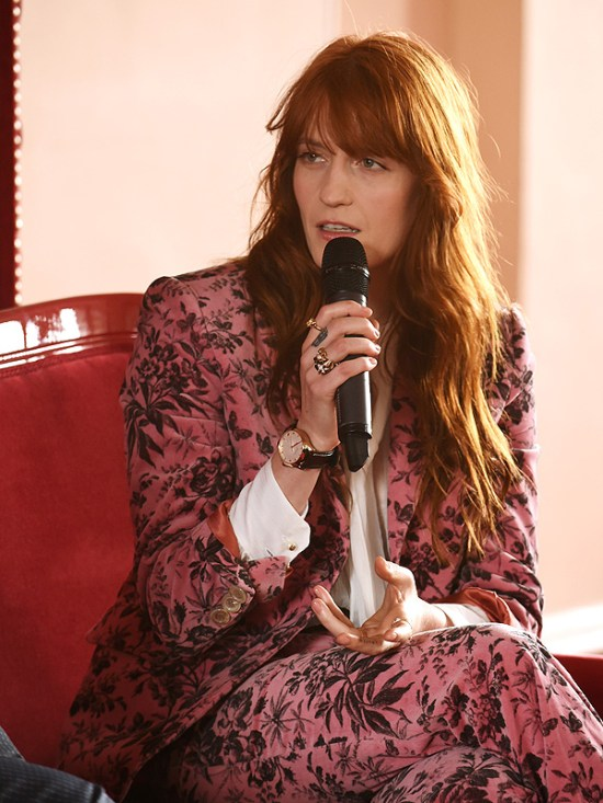 Florence Welch for Gucci watches