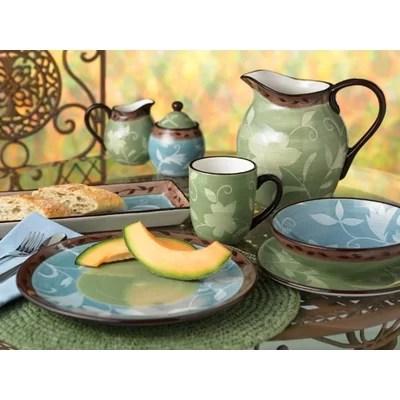 Patio Garden Dinnerware Collection Wayfair