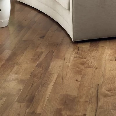 Character 5quot Engineered Hickory Flooring In Hickory Saddle
