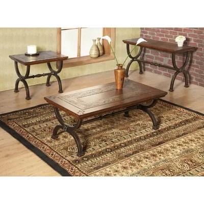 Milford Coffee Table Set Wayfair