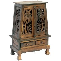 Tropical Wood Cabinet
