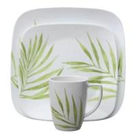 Corelle Bamboo Leaf 16 Piece Dinnerware Set & Reviews ...