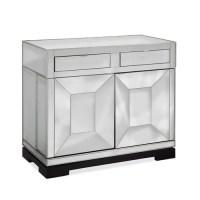 Bassett Mirror Taney Rolling Bar Cabinet
