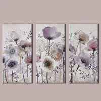 Graham & Brown 3 Piece Classic Poppy Framed Art Set