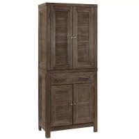 Cupboard Furniture Wood Pantry Bathroom Organizer Storage ...
