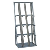 14 Gauge Steel Vertical Long Parts Storage Rack | Wayfair