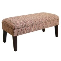 HomePop Decorative Upholstered Storage Bench & Reviews ...