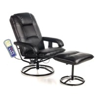 Comfort Products Leisure Heated Reclining Massage Chair ...