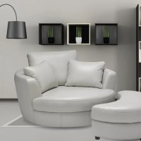 Sofas to Go Cuddle Swivel Chair and Ottoman & Reviews ...