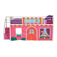 DHP Bakeshop Curtain Set for Junior Loft Bed & Reviews ...