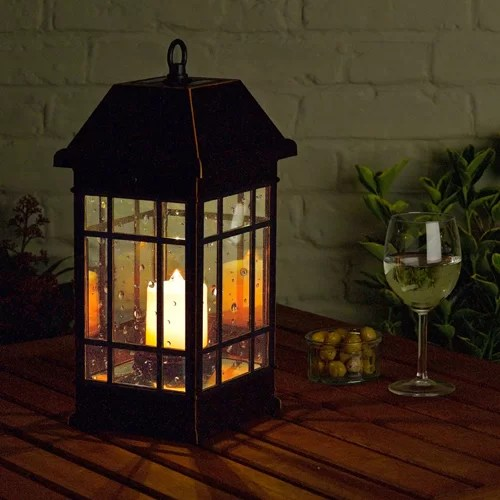 Verlichting Zonne Energie Action Smart Solar San Rafael Ii Mission Solar Pillar Candle
