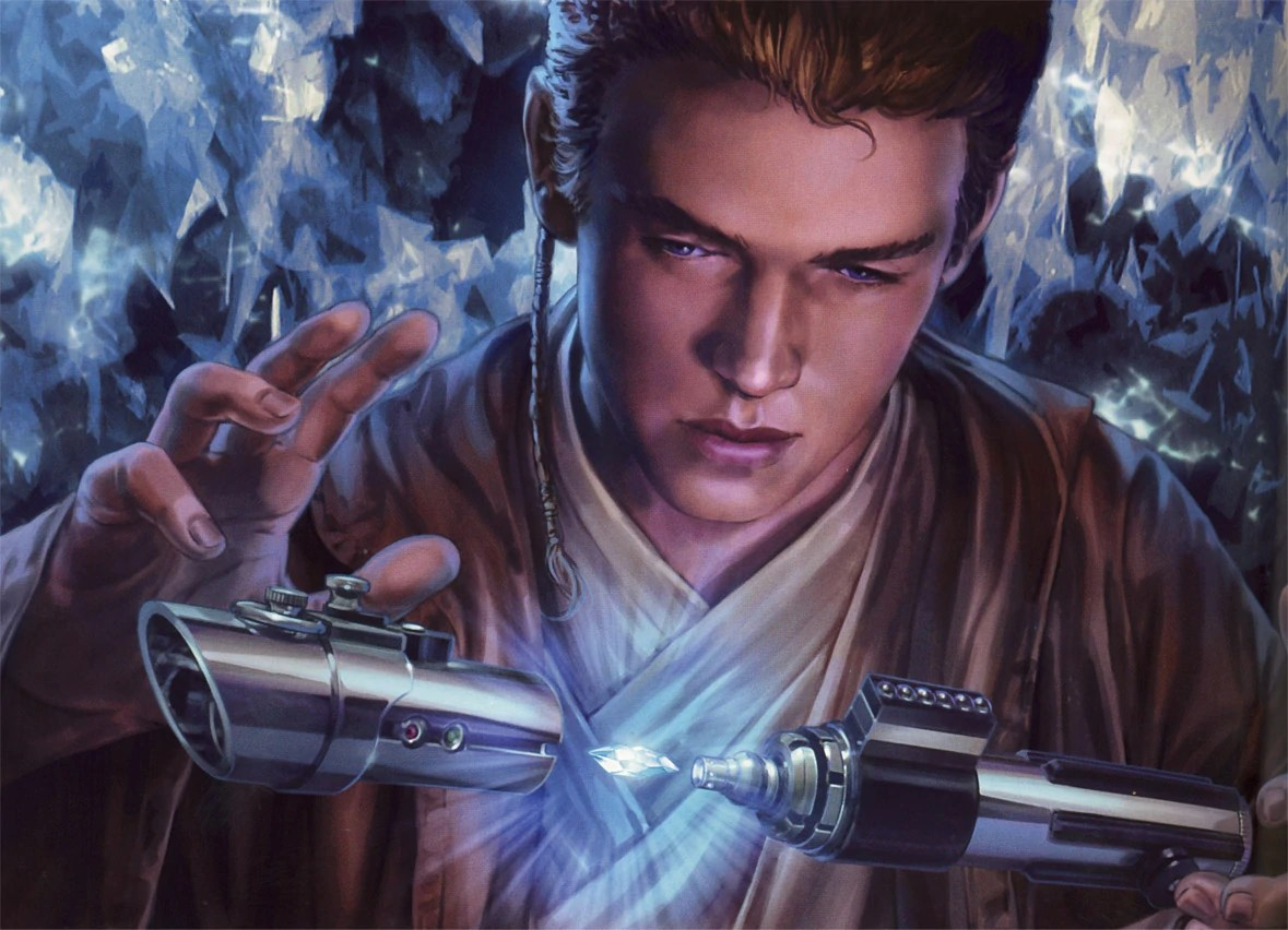 Anakin Skywalker Jedi Anakin Skywalker's First Lightsaber - Wookieepedia, The