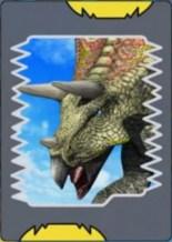Dinosaur King Rosaurus Card