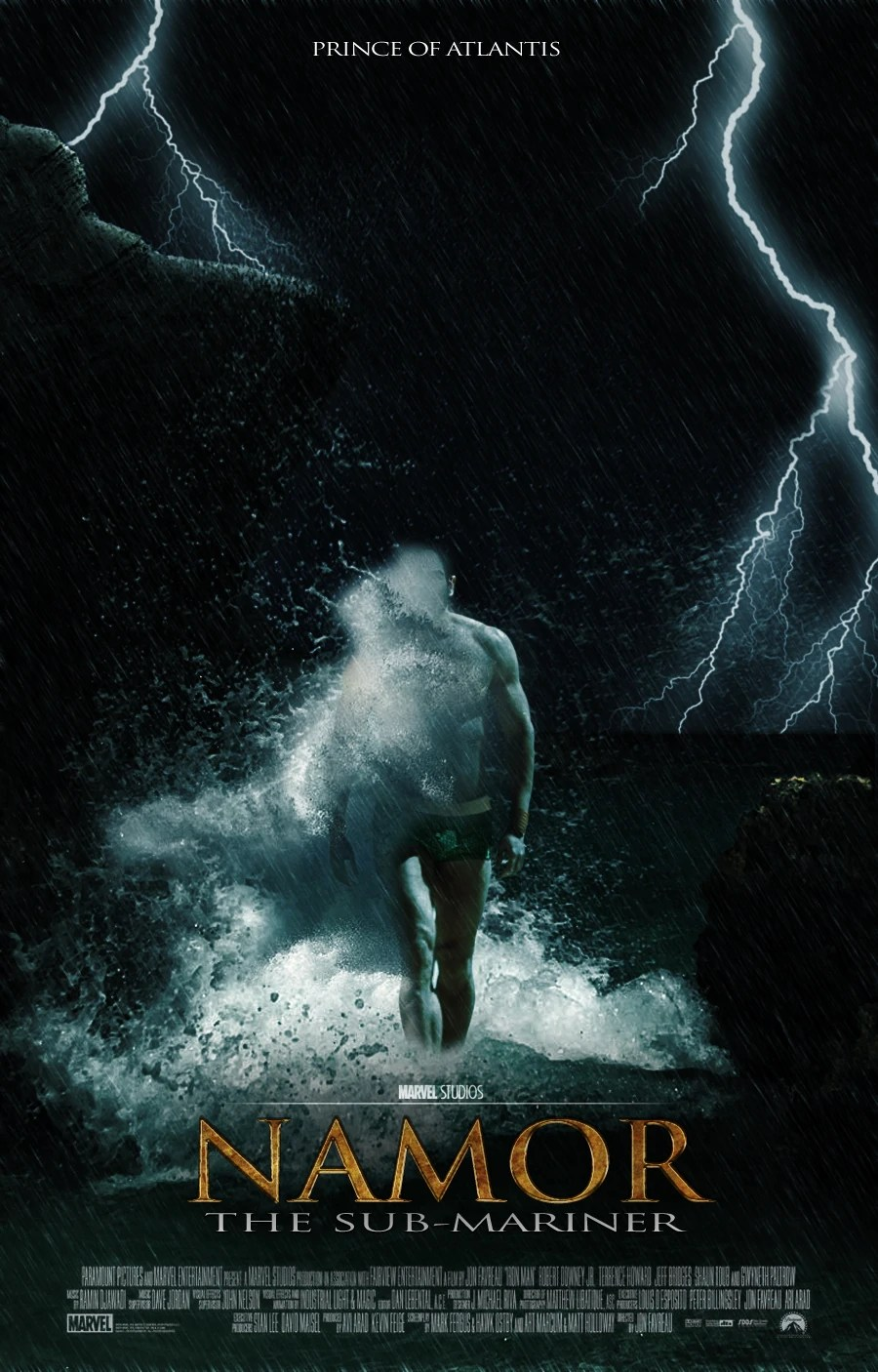 Wallpaper Of Water Fall Namor Marvel Movies Fanon Wiki