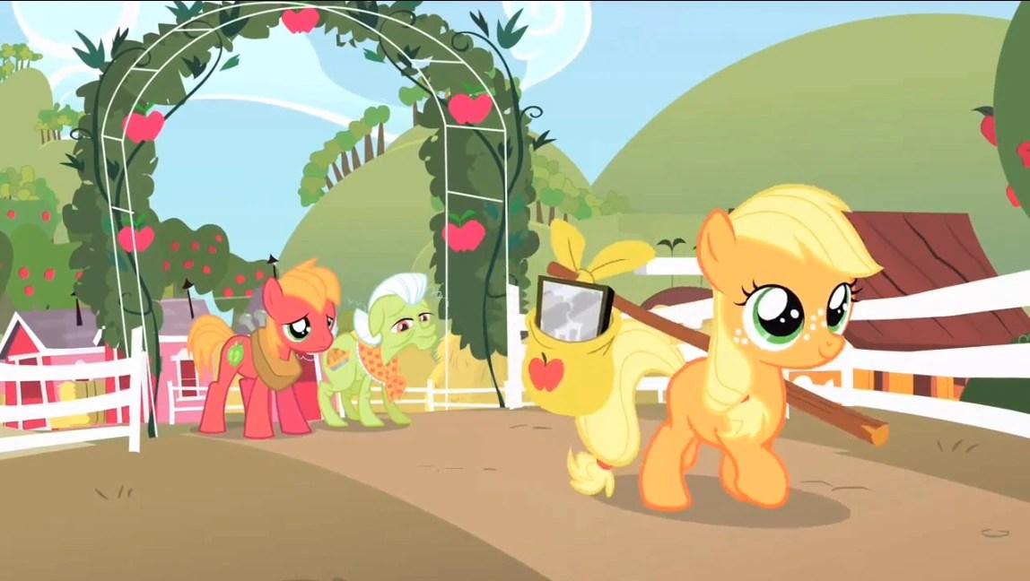 Fall Schoolhouse Wallpaper Applejack My Little Pony L Amicizia 200 Magica Wiki