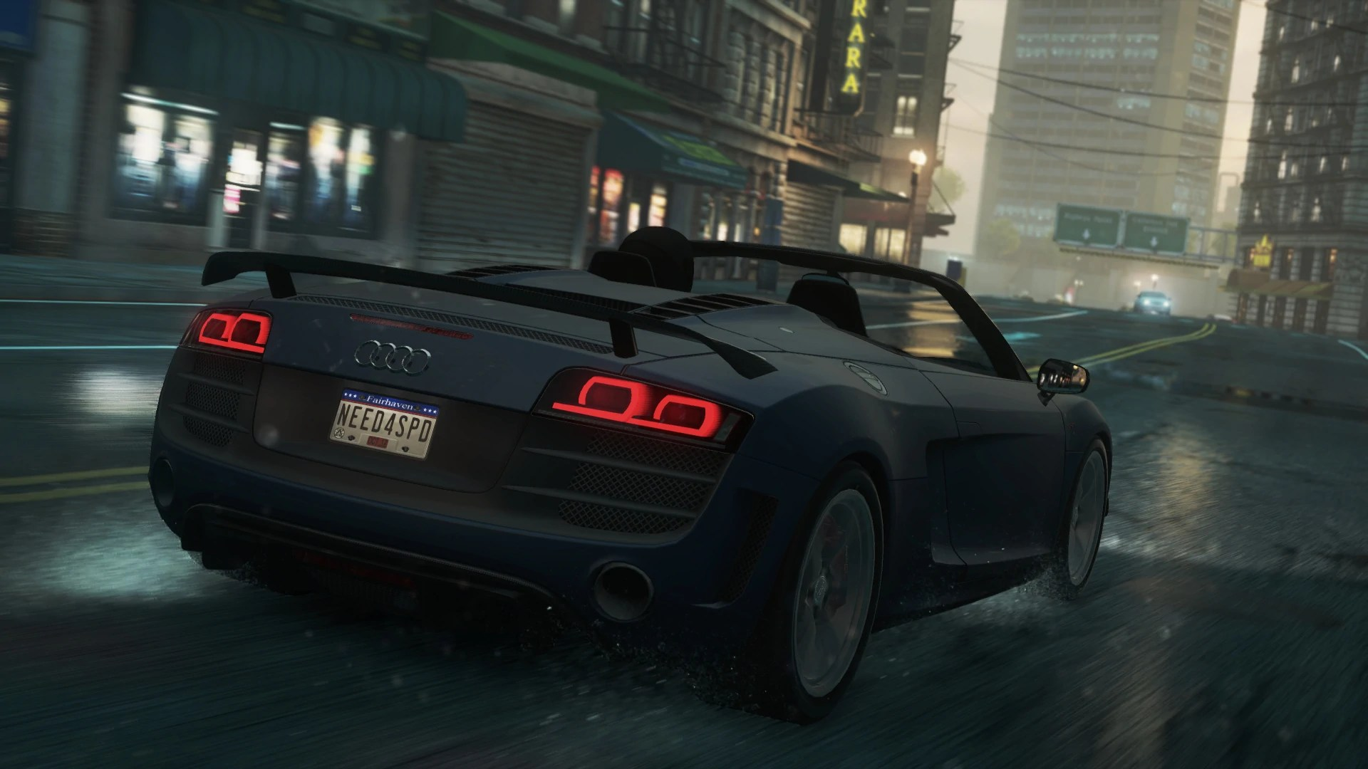 Need For Speed Carbon Cars Wallpapers Audi R8 Gt Spyder At The Need For Speed Wiki Need For