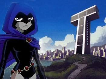 Smart Attitude Girl Hd Wallpaper Raven Teen Titans Wiki Robin Starfire Raven