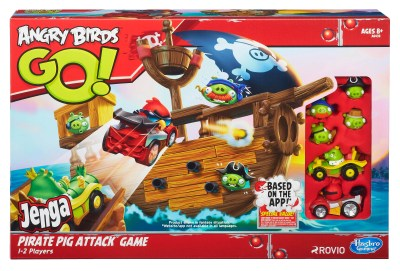 Angry Birds Go Jenga Pirate Pig Attack Game