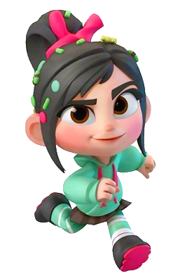 Cute Stitch On Side Wallpaper Infnity Vanellope Render