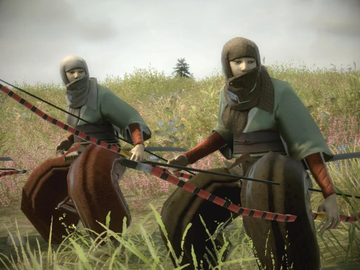 Shogun 2 Fall Of The Samurai Wallpaper Bow Warrior Nuns Radious Mods Wiki