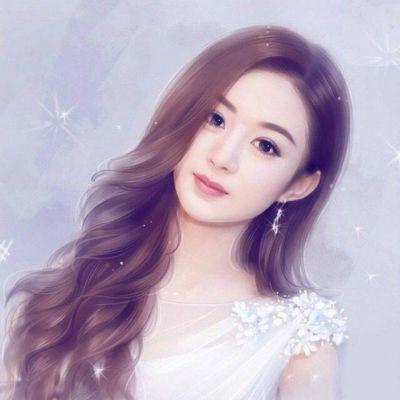 Korean Girl Cartoon Wallpaper 赵丽颖手绘,颖火虫开始行动 Qq女生头像 我要个性网