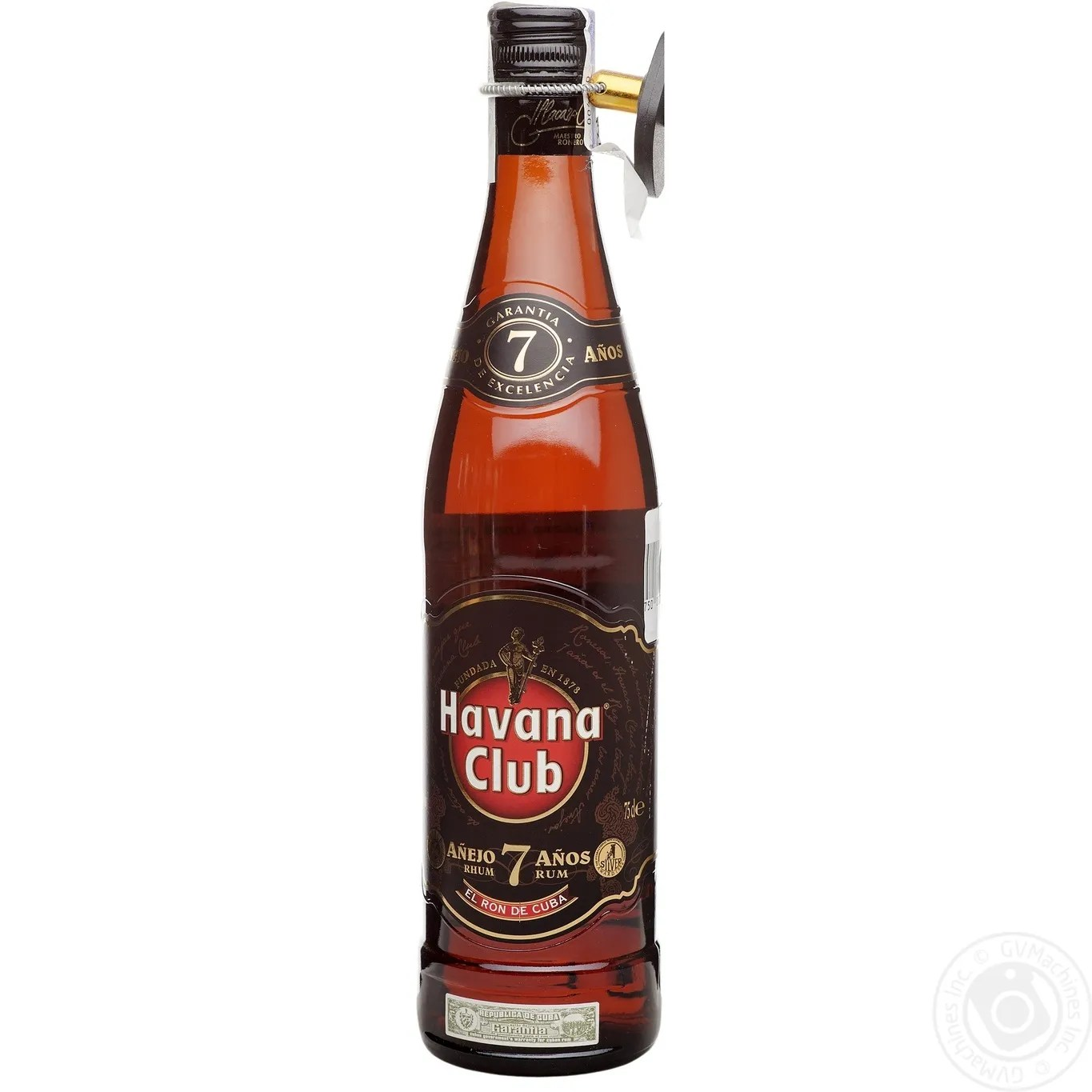 Rum Glas Rum Havana Club 40 7yrs 750ml Glass Bottle Cuba Drinks