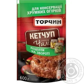 Torchin Chile Ketchup 600g → Canned food and seasonings → Ketchup