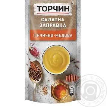 Torchin Salad mustard-honey dressing 140g → Canned food and