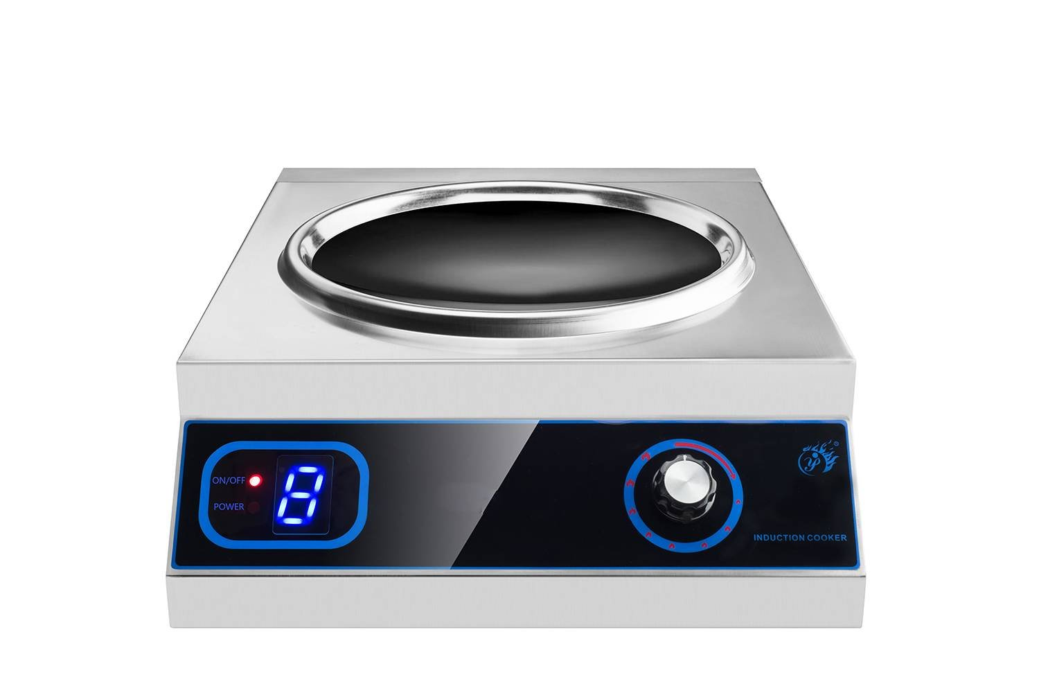 Induction Wok High Quality Restaurant Buffet Built In Wok Induction Cooker
