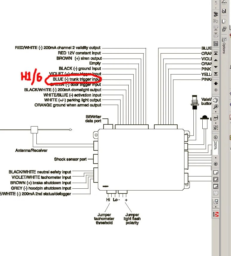 Clifford Wiring Diagram Wiring Diagram