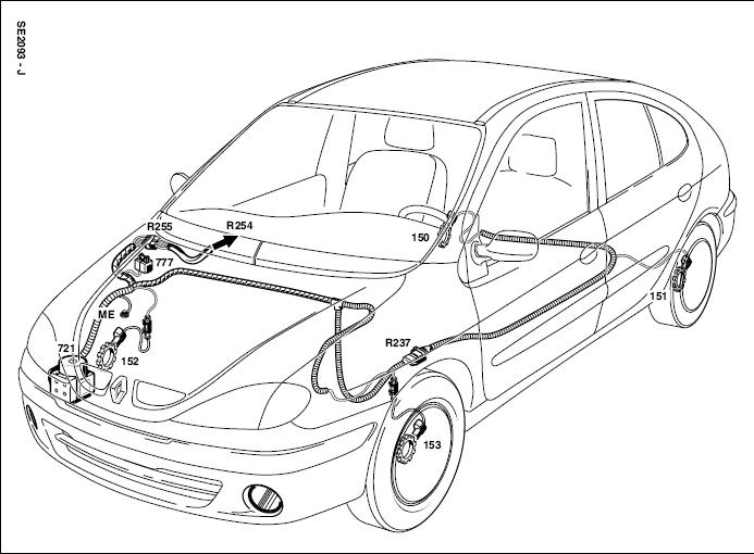 marussia schema moteur megane coupe