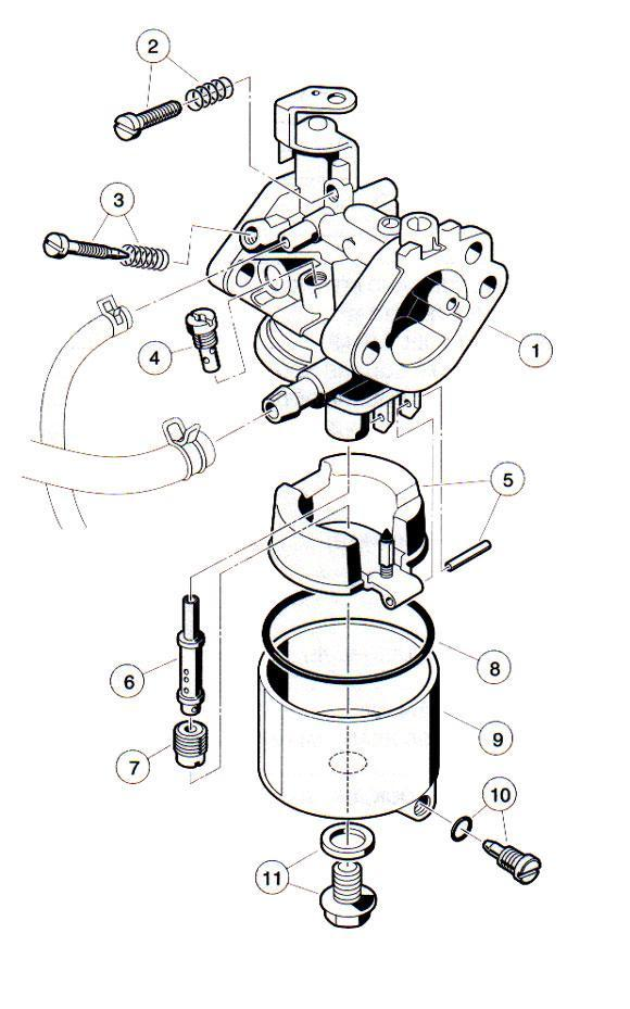 columbia golf cart engine diagram