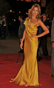 Suble Film India Celebrities Eva Mendes Lovely In Indian Inspired Dress x