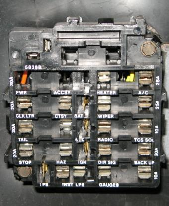 1979 Camaro Fuse Box Wiring Diagram